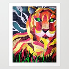 The Fearless Art Print
