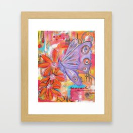 She is more than She knows... Framed Art Print