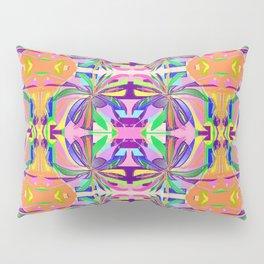 Plastic Wrap Flower Pillow Sham