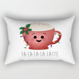 Fa-la-la-la-latte Rectangular Pillow
