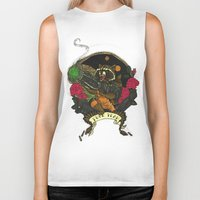 rocket raccoon Biker Tanks featuring Rocket Raccoon by Ginger Breo