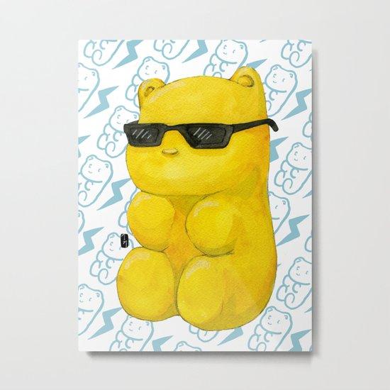 summer gummy bear Metal Print