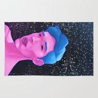 boy Area & Throw Rugs featuring Boy// by Jayesh Jayman Joshi