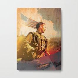 Military War Memorial Metal Print