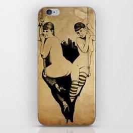 Trapeze iPhone Skin
