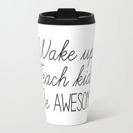 Awesome Teacher Travel Mug
