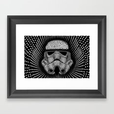 Trooper Star Circle Wars Framed Art Print