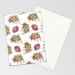 Japanese Koi Stationery Cards
