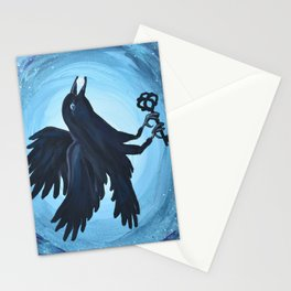 Crow Blessings Stationery Cards
