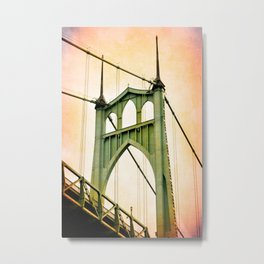 ST. JOHNS BRIDGE - PORTLAND Metal Print
