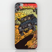 the goonies iPhone & iPod Skins featuring The Goonies by Carol Wellart