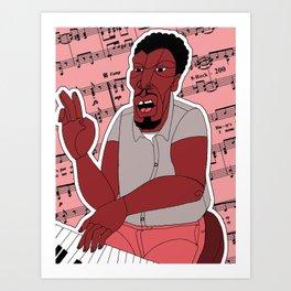 1001 Black Men--#200 Art Print