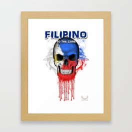 To The Core Collection: Philippines Framed Art Print