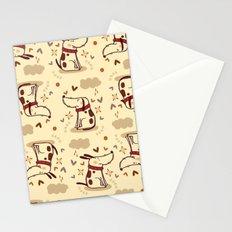 EMOTIONAL DOGGY Stationery Cards