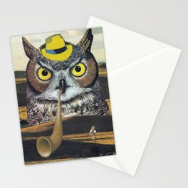 Owls Love Mysteries Stationery Cards