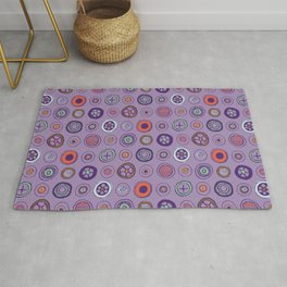 Dots in Lavender Rug
