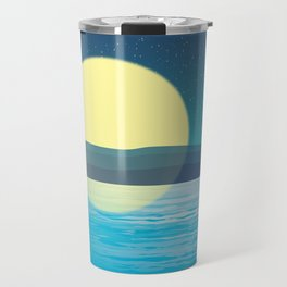 Night at the sea Travel Mug