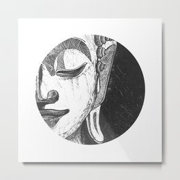 The Gautama Buddha Metal Print