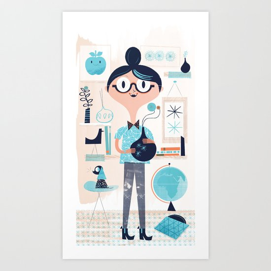Domestic Life Art Print
