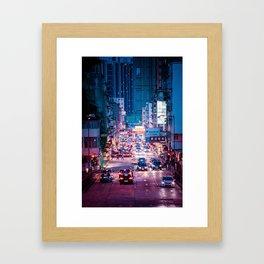 Night of Kowloon Framed Art Print