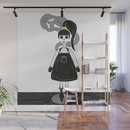 Ghoulish Wall Mural
