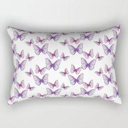 Glitter Butterflies Rectangular Pillow