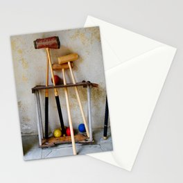 Anyone For Croquet? Stationery Cards