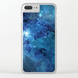Exploring the Universe 17 Clear iPhone Case