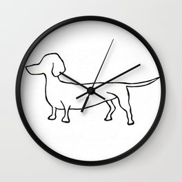 Doxie Wall Clock