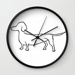 Doxie Wall Clock