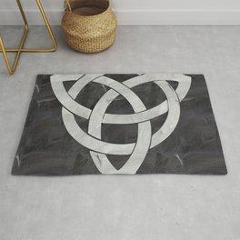 Celtic knot Rug