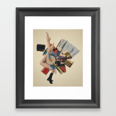 Pinky's Out Of Jail Framed Art Print
