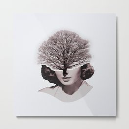 Tree People - Ingrid Metal Print