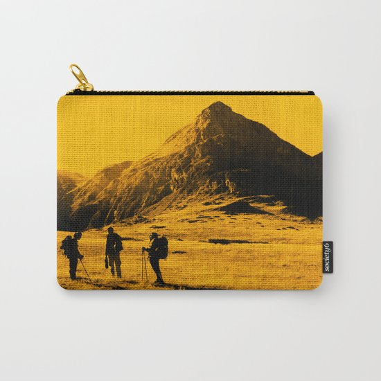 Hello threes of yellow isolation Carry-All Pouch