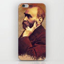 Alfred Nobel, Inventor iPhone Skin