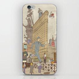 St. Petersburg Literary Map iPhone Skin