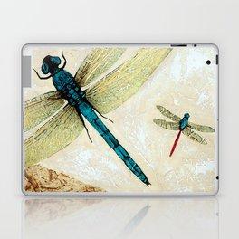 Zen Flight - Dragonfly Art By Sharon Cummings Laptop & iPad Skin