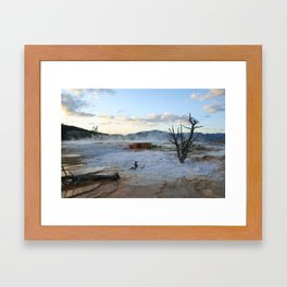 Mammoth at Sundown Framed Art Print