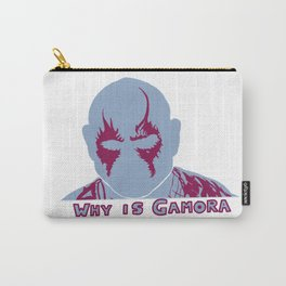 why is...? Carry-All Pouch