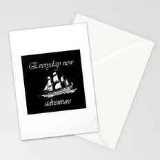 Everyday new adventure Stationery Cards