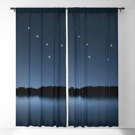 Big Dipper, Ursa Major star constellation, Night sky, Cluster of stars, Deep space Blackout Curtain