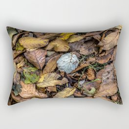 Summer is gone, Autumn is finally here Rectangular Pillow