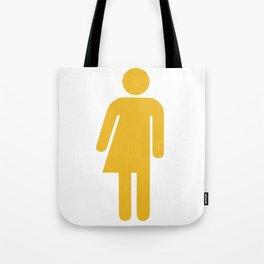transgender visibility symbol Tote Bag