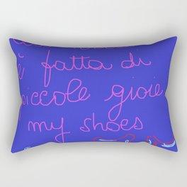 My shoes my love Rectangular Pillow