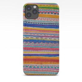 TRIBAL CRAYON / iPhone Case