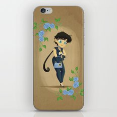 Retro Sailor Star Fighter iPhone & iPod Skin