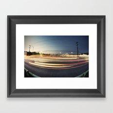 fisheye Framed Art Print