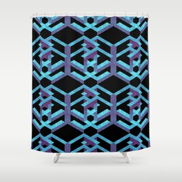 Impossible Interlace Shower Curtain
