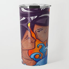 Two Lovers of Guam Travel Mug