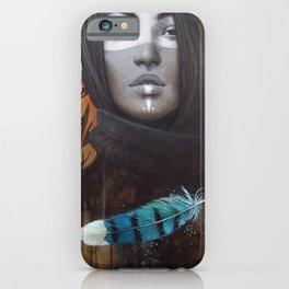 Marie-Bleue iPhone Case